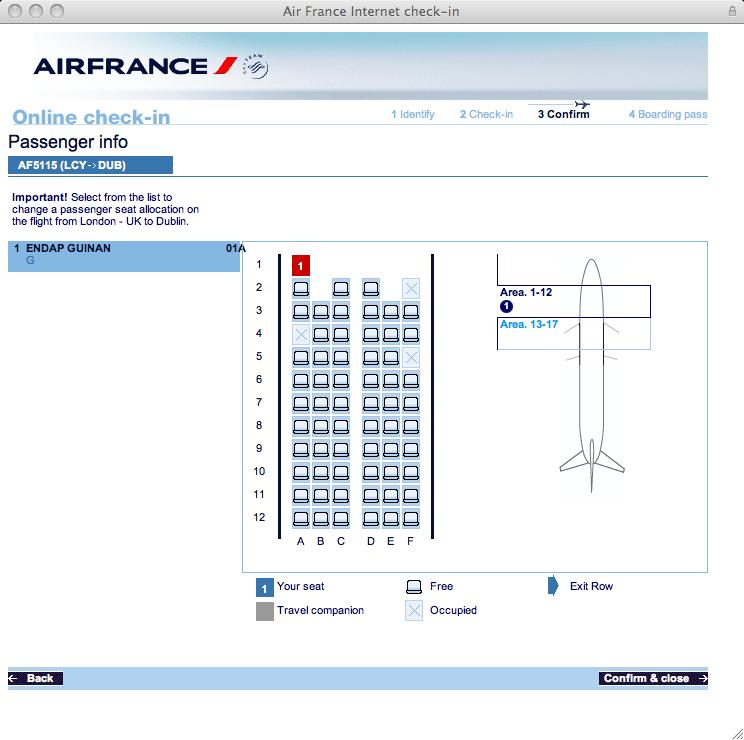 Air France 1A