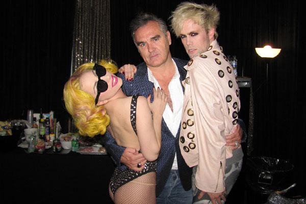 Lady Gaga meets Morrissey