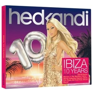 Cover of Hed Kandi 'Ibiza 10 Years' album