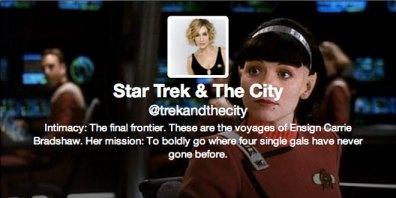 Star Trek & The City Twitter Cover