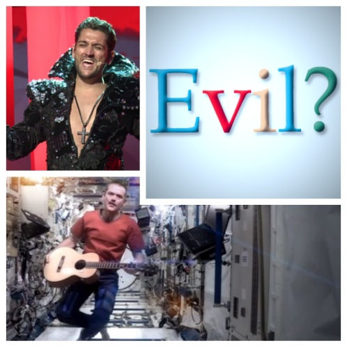 Google being evil, Commander Hadfield's Space Oddity and Cezar represents Romania at Eurovision