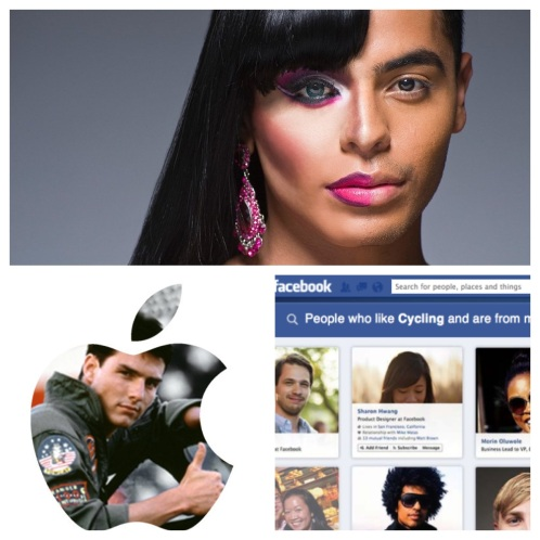 Diptic image of Leland Bobbé, Apple Mavericks & Facebook Privacy